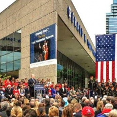 Gerald R. Ford Presidential Museum Ceremony